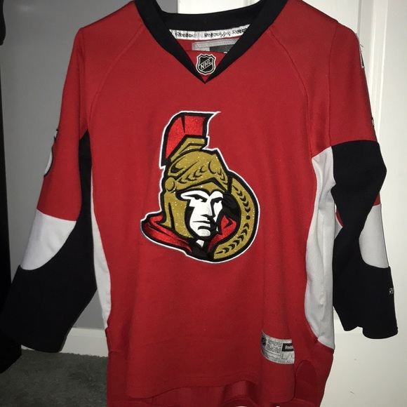 wholesale dealer cfa37 70690 Ottawa Senators Youth XL Erik Karlsson Jersey